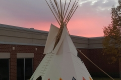 Redwood School Tipi