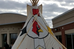 Redwood Valley Cardinals Tipi