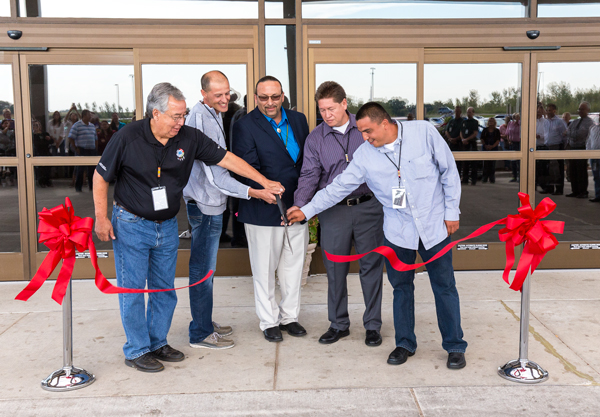 Ribbon Cutting - Tribal Government